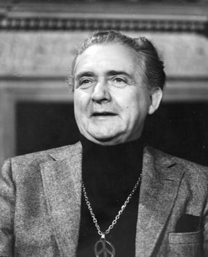 Skådespelaren Stig Järrel på en bild från 1971. Foto: TT