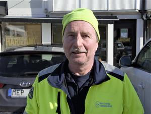 Mats Andersson, 60 år, driftstekniker Essvik