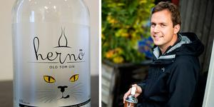 Det prisbelönta Hernö Old Tom Gin/ Jon Hillgren.