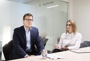 Brian Marrs och Therése Treutiger förväntar sig en ökad efterfrågan på molntjänster där de ser en möjlighet att växa som företag.
