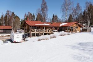 Denna villa i Höglunda i Orsa kommun kom på nionde plats på Klickstoppen. Foto: Andreas Timfält