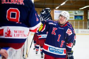 Oscar Nordlander blev målskytt mot Njurunda SK i måndags. Mot AIK Hockey Härnösand stod han för en fin soloprestation, men det räckte inte.