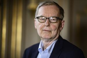 Anders Olsson lämnar posten som ständig sekreterare i Svenska Akademien i början av sommaren när han fyller 70 år. Arkivbild: Naina Hel n Jåma/TT