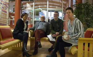 De kristdemokratiska politikerna Lili André, Ingemar Kalén, Peter Åkerström och Jennie Forsblom hade förståelse för Sverigedemokraternas upprördhet.