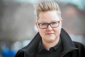 Jonna Källström Böresson (V), distriktsordförande för Vänsterpartiet Gävleborg.