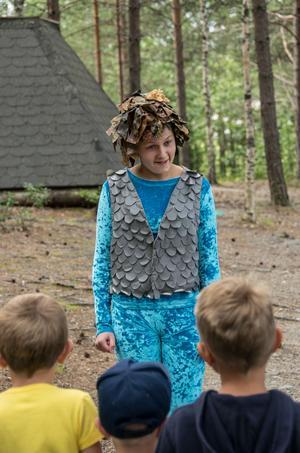 I år är det Sandra Djurenvall spelar Laxe i Mulleriket.