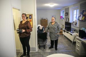 De har ändamålsenliga lokaler i centrala Östersund dit både kvinnor och barn som vill få kontakt söker sig.