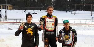 Mikael Flodin tog hem den tredje deltävlingen av isracingcupen 2019.