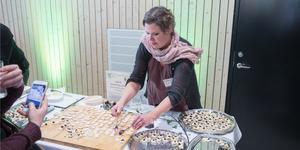 Nykvarnsföretagaren Maria Mörner var en av tio finalister i tävlingen Matverk. Jurygrupperna utsåg henne till silvermedaljör.