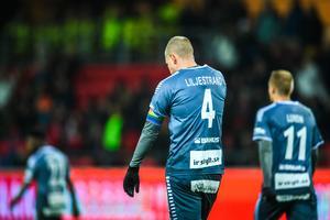 Mattias Liljestrand deppar efter Brages kvalsorti mot Kalmar. Foto: Suvad Mrkonjic/Bildbyrån