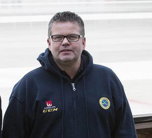 Micael Eriksson är tävlingsansvarig på bandyförbundet.