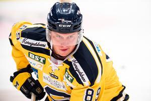 David Åslin har noterats för fyra poäng på åtta matcher så här långt. Foto: Bildbyrån.
