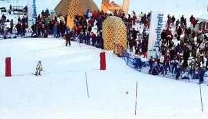 Arkivbild från tävlingen Vemdalsslalom.