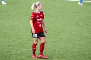 Alicia Dahlgren var en av tre spelare som var otillgänglig för Team Hudik.