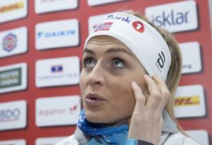 Är dopningsfällde Therese Johaug en tillräckligt stor förebild för att få Norges finaste idrottspris? Arkivbild