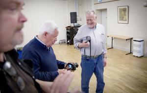 Dan Crona, Bengt-Åke Strandberg med den tidigare LT-fotografen Thomas Brandt.
