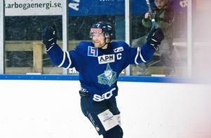 Fredrik Orrsten blev tremålsskytt när Arboga vann.