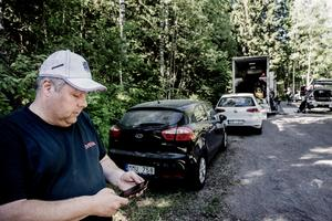 Andreas Haraldsson är banchef för helgens SM-rally i Askersund.