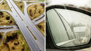 Skribenten uppmanar de trafikanter som inte vågar hålla 110 på motorvägen att välja en väg med lägre hastighetsbegränsning. Bilder: Johan Engman / Martina Holmberg/TT