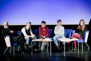 Diskussionsdeltagarna var Björn Flinth, André Abrahamsson, Anki Wärnberg, Tinus Lindström och Ida Wåhlberg.