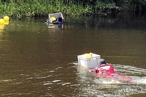 Den 10 augusti dök Polisens dykare i Svartån. Inte heller här gjordes några avgörande fynd.