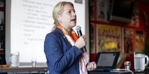 Catharina Elmsäter-Svärd avgår som ordförande i SSK, bekräftar hon nu.