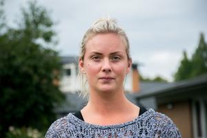 Linnea Jolinger berättar att det var jobbigt att se hennes barn frysa.