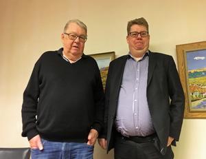 Nils och Erik Hansson, Hanssons advokatbyrå, Härnösand.