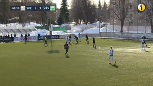 VSK Fotboll vann premiären mot Skellefteå FF med 3-1. Foto: Ettanfotboll