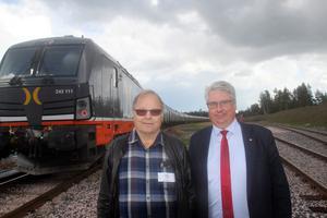 Olle Larsson och Hans  Unander har kämpat hårt för att ro projektet i hamn.