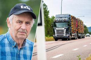 En liten flicka höll på att bli överkörd vid Nya Sibogrillen, utanför Kilafors. Lastbilschauffören Lars-Göran Söderqvists rådiga ingripande räddade flickans liv.