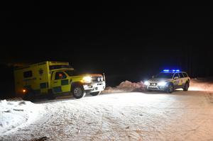 Ett stort räddningspådrag sattes in på söndagskvällen sedan jägaren anmälts försvunnen.