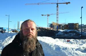 Georg Börlin, projektledare för Norra Kajen.