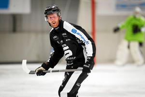 Ted Haraldsson var mycket bra borta mot Vänersborg. Ett mål och en assist från hans klubba.
