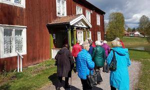 Ett besök vid Ottilia Adelborgsmuseet i Gagnef  står också på gruppens lista över genomförda aktiviteter.