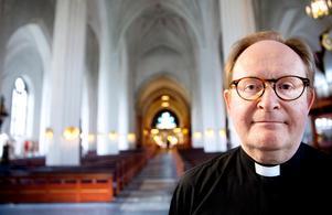 Domkyrkokaplan Markus Holmberg.Foto: Kenneth Hudd