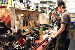 Många kunder vänder sig till Skistart på grund av företagets goda kvalité på varorna. Arkivbild: Stefan Rämgård