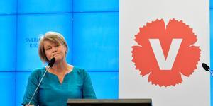 Bollnäsfödda Ulla Andersson är en av dem som nämns som tänkbara efterträdare till Vänsterpartiets partiledare Jonas Sjöstedt. Bild: Jessica Gow / TT