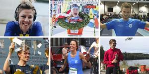 Emilia Fahlin, Maria Gräfnings, Jonas Nilsson, Martin Regborn, Liduina van Sitteren och rekordlöparna på Bergslagsleden – på bilden representerade av Josef Snellman, är nominerade till NA:s pulsklocka 2019.
