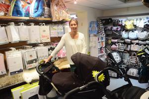 Barnvagnar och andra babyprylar kommer att ta upp större delen av den nya ytan i butiken.