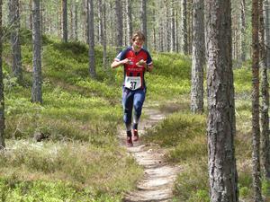 Albin Ridefelt vann lördagens herrtävling.