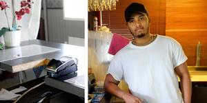 Ali Awes driver restaurangen Merca Grill House tillsammans med sin familj.