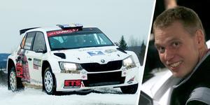 Mattias Monelius tog två VM-poäng som nia i WRC2-klassen i Svenska rallyt i fjol – men inför årets tävling har han sålt sin Skoda Fabia och kommer inte till start.