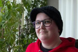 """Ellis budskap till Fagersta Pride är tydligt. """"Jag vill bli hörd. Inkludera alla. Ta inte över den queera kampen"""""""