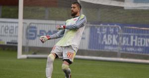 Tim Markström tvingades släppa in två mål.
