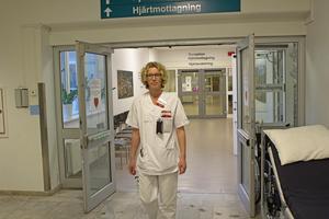 Charlotta Hammar, överläkare och medicinskt ansvarig på hjärtsektionen,