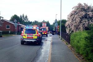 Tonåring avled efter motorcykelolycka på Egnahem.