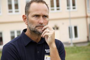 Robert Strid, räddningsledaren som ledde arbetet i Ljusdal.