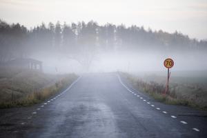 Elever får gå i 40 minuter innan de når närmaste busshållplats. FOTO: Fredrik Sandberg/TT