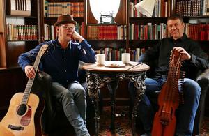 Ian Carr och Niklas Roswall. Bild: Pressbild
